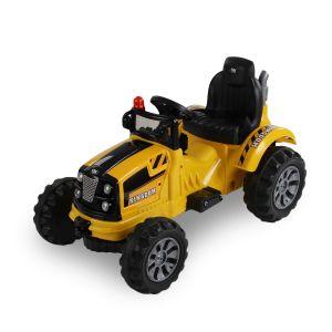 Kijana trattore elettrico giallo