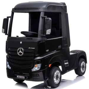 Camion Mercedes elettrico per bambini Actros nero