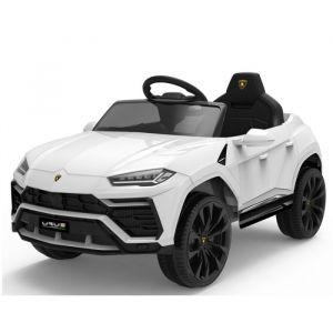Lamborghini auto elettrica per bambini Urus bianca