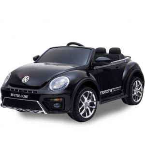 VW auto elettrica per bambini Dune Beetle nera