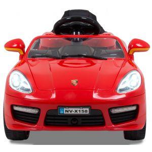 """Kijana auto elettrica per bambini """"Speedster"""" rosso 12V"""