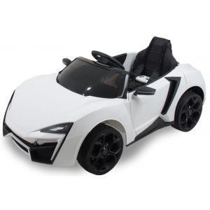"""Kijana auto elettrica per bambini """"Spider"""" - bianca"""