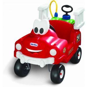 Little Tikes camion dei pompieri auto a piedi