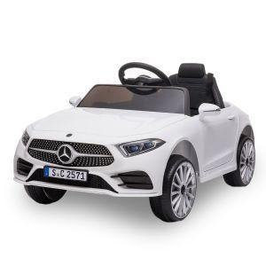 Mercedes auto elettrica per bambini CLS350 bianca