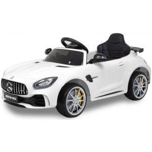 Mercedes auto elettrica per bambini GTR bianco