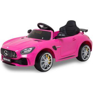 Mercedes auto elettrica per bambini GTR rosa