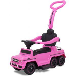 Mercedes auto cavalcabile classe G con 6 ruote rosa