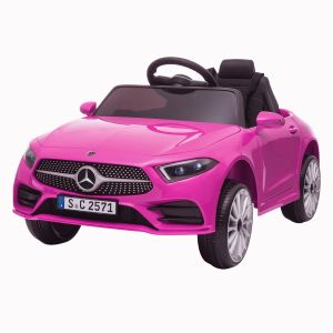 Mercedes auto elettrica per bambini CLS350 rosa