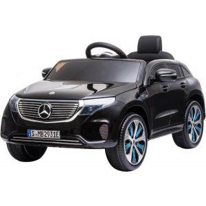 Mercedes auto elettrica per bambini EQC nera