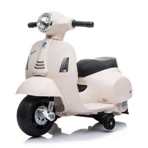 Mini scooter elettrico per bambini vespa bianco