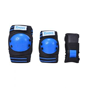 Move skatebescherming 3-delig blauw