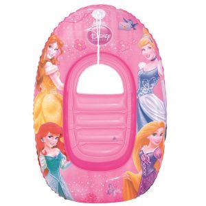Bestway disney principesse nuotano in barca rosa