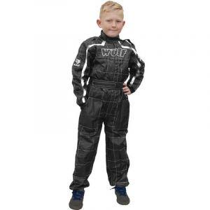 Wulfsport Junior Cub tuta da gara in generale nera