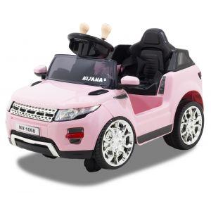 Kijana auto elettrica per bambini Evoque style rosa
