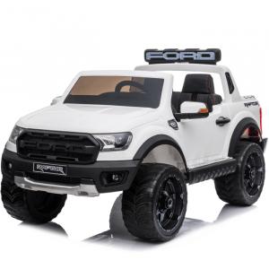 Politie Ford elektrische kinderauto Raptor wit