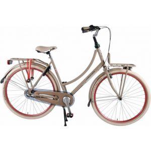 SALUTONI Eccellente City bike - Donna - 28 pollici - 50 centimetri - Sabbia - Shimano Nexus 3 marce - Assemblata al 95%