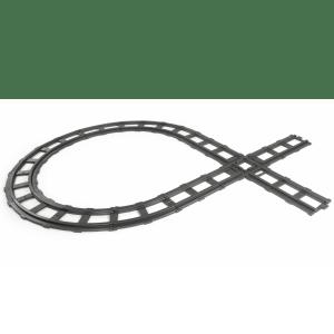 Peg Perego Binario ferroviario a 11 pezzi Santa Fe