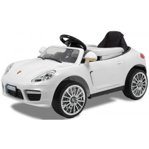 "Kijana auto elettrica per bambini ""Speedster"" bianca 12V"