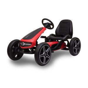 Mercedes go-kart rosso