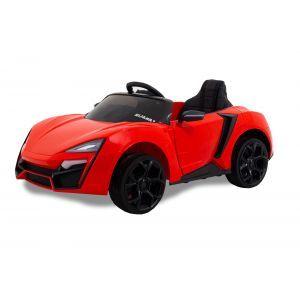 """Kijana auto elettrica per bambini """"Spider"""" rossa"""