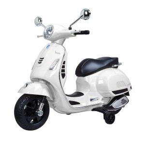 Vespa GTS bambino scooter bianco
