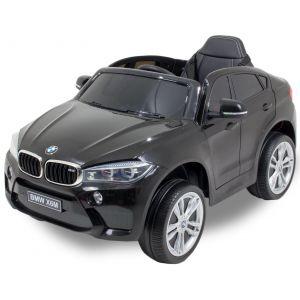 BMW auto elettrica per bambini X6 nera