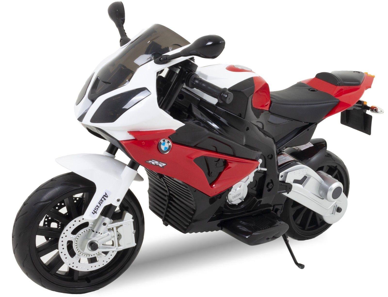 BMW motocicletta elettrica per bambini S1000 rossa