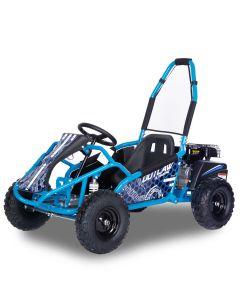 Kijana Outlaw buggy 98 cc motore 4 tempi blu