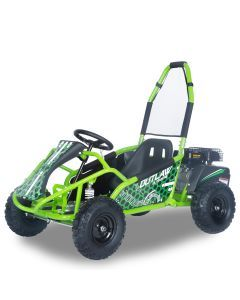Kijana Outlaw buggy 98cc motore 4 tempi verde