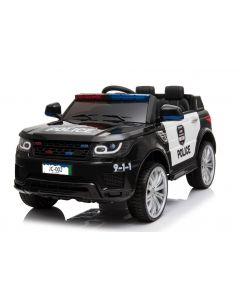 Kijana auto della polizia bambino Land Rover nera