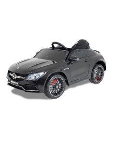 Mercedes auto elettrica per bambino C63 AMG nera