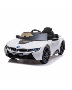 BMW auto elettrica per bambini I8 bianca