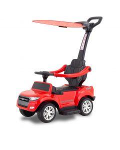 Ford Ranger auto cavalcabile elettrico con parasole rosso