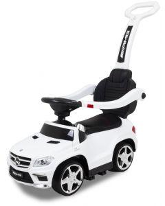 Mercedes auto elettrica per bambini cavalcabile GL63 bianca