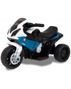 BMW mini motore blu per bambini