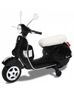 Vespa scooter per bambini nero