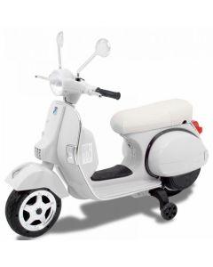 Vespa scooter per bambini bianca